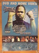 "Rare XZIBIT Restless 18"" x 24"" Promo POSTER Rap Hip Hop DR. DRE EMINEM SNOOP DOG"