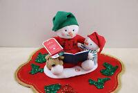 New Hallmark 2019 Jingle Pals Storytime Snowman Night Before Christmas Animated
