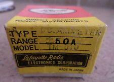 Lafayette Radio DC Ammeter Model TM 510 BL