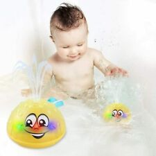 Bath Toys, Water Spray Toys for Kids Baby Bath Toys for Toddlers LED Light