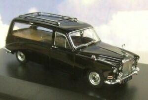 Eccellente Oxford Diecast 1/43 Daimler DS420 Corone Funebri Carro IN Nero DS002