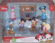 Disney Mickey's Christmas Carol Holiday Figurine Collector Set New Mickey Mouse