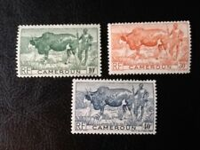 CAMEROUN   SCOTT# 304-6 set of 3  MINT VLH  ANIMAL TOPICAL