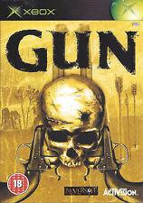 GUN for Xbox - with box & manual - PAL
