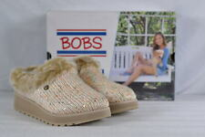 Women's Skechers Keepsakes High-Party Pause Slip On Shoes Natural/Multi