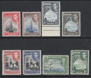Bermuda, Sc 118-122 (SG 110/115), MLH/HR