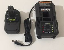 Ryobi 18V  Dual Chemistry Charger P118 & P102 Lithium Battery - Free Shipping!