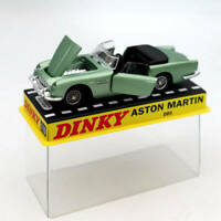 Atlas 1:43 Dinky toys 110 Aston Martin Green Diecast Models Collection Car