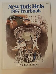 1987 New York Mets Yearbook Revised Edition
