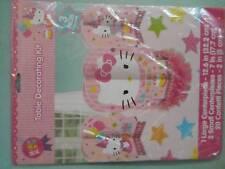 Hello Kitty Table Decorating Kit New NIP 3 Centerpieces + 20 Confetti Sanrio