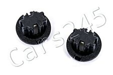 Genuine MERCEDES W164 W220 Tail Light Stop Fog Lamp Sockets Holders x2 Black
