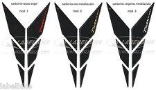 ADESIVI-stickers 3D carbonio-ergal COMPATIBILI per YAMAHA TMAX 530 Y FRONTALE