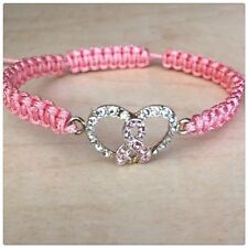Breast cancer awareness bracelet-charity fundraiser 💕