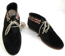 KOAH Chaussures lacet cuir daim  bleu marine 39 TRES BON ETAT