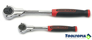 GEARWRENCH Roto Ratchet Set 2pc with soft grip handles