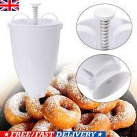 Mini Doughnut Mould Donut Waffle Maker Machine Dispenser Kitchen Utensil Tool UK