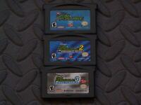 Lot Nintendo Game Boy Advance GBA Games Kim Possible, Kim Possible, Kim Possible