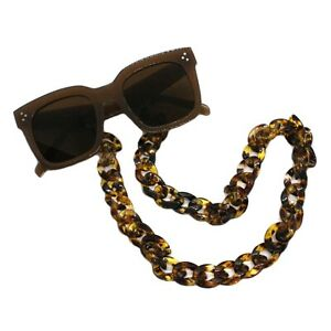 Sunglasses Neck Strap Thick Acrylic Chain Glasses Holder Cords