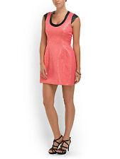 Cut25 Yigal Azrouel Dress Metallic Jacquard A-Line Dress Melon-Sz 10-NWT-RP:$525
