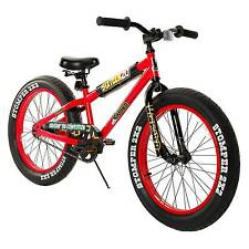 "Boy's Krusher Fat Tire Mountain Bike - Red (20"")"