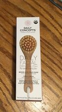 Daily Concepts Daily Facial Dry Brush, New in Sealed Box Polishes Skin""