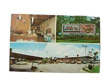 Ashburn Motor Inn-Honeybear Restaurant-Georgia-Vintage 1972 Advertising Postcard