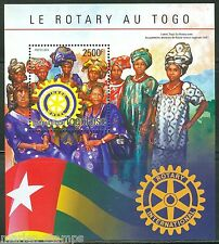 TOGO 2014 ROTARY INTERNATIONAL OF TOGO  SOUVENIR SHEET  MINT NH