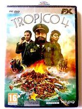 Tropico 4 PC Nuevo Precintado Retro Videogame Videojuego Sealed New PAL/ITA