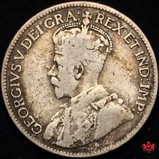 1919 Canada 25 cents - VG/F - Lot#2102P