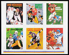 1970 Topps Football Poster Uncut Final Production Sheet Bell, Robinson, Alworth
