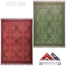 Tapis vert pour la maison en 100% laine de Népalais