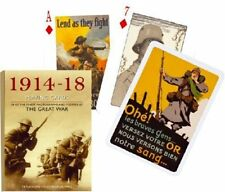 1914-1918 World War I set of 52 playing cards + jokers (gib)