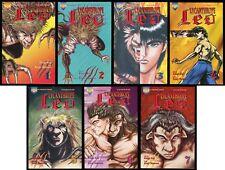 Lycanthrope Leo Comic Set 1-2-3-4-5-6-7 Lot Werewolf Werewolves Horror Viz Manga