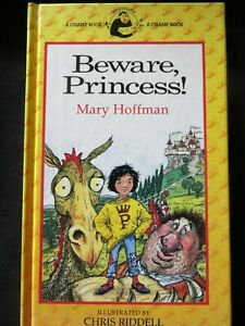 Champ Yellow Banana Beware, Princes!  Mary Hoffman HB 1988 1st ed., Out of Print