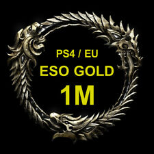 The Elder Scrolls Online 1.000.000 Gold, 1M, PS4 EU Server, ESO Gold