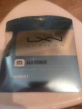 luxilon big banger alu power 16g