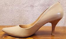 Steve Madden Heels-Beige-5.5M-Womens Shoes-Classic