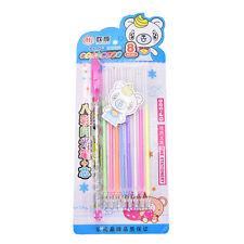8PCS/Set Colorful Gel Pen Cute Pens Student Office Accessories FG