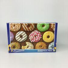 (NEW) Puzzlebug 500 piece jigsaw puzzle Yummy Doughnuts