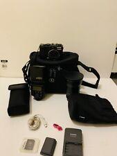 Canon Powershot Camera G9 12.1 Mega W/ 430EX Speedlite, TC-DC58C, Bag & Manuals