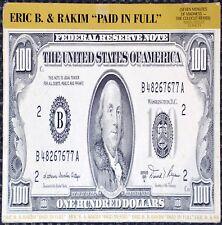Maxi 45t Eric B. & Rakim - Paid in Full