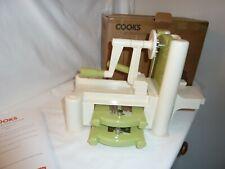 Cooks Professional 3 Blade Spiralizer Vegetable Fruit Slicer Twister Cutter