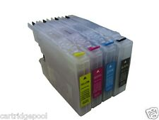 Refillable ink cartridge for Brother LC71 LC75 MFC-J625DW MFC-J825DW MFC-J835DW