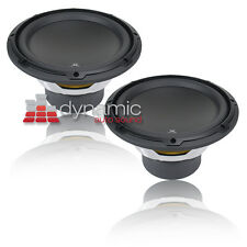 "Two (2) JL AUDIO 10W3v3-2 10"" Single 2 ohm W3v3 Series Car Audio Subwoofer Sub"