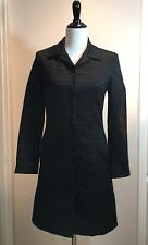 Elie Tahari Textured Long Jacket & Slacks Suit Set Top Size 6 Bottoms Size 8 L1