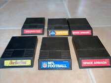 LOT OF FIVE (6) INTELLIVISION VIDEO GAME CARTRIDGES ONLY Vintage