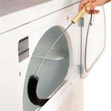 DRYER Lint Vent Trap Cleaner Brush gas electric Fire Refrigerator Silver