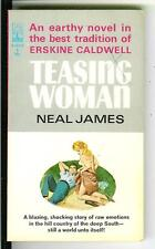 TEASING WOMAN by Neal James, rare US Beacon SCL sleaze gga pulp vintage pb