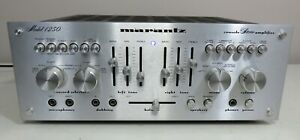 MARANTZ 1250 INTEGRATED STEREO AMPLIFIER WORKS PERFECT SERVICED FULLY RECAPPED