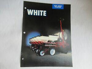 1990 White 6100 6700 6180 6900 6000 series planters brochure